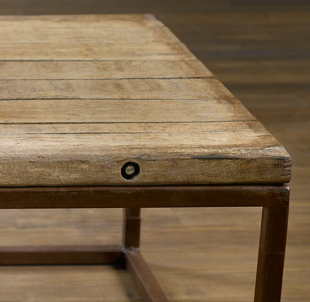 restoration hardware brickmakers table2
