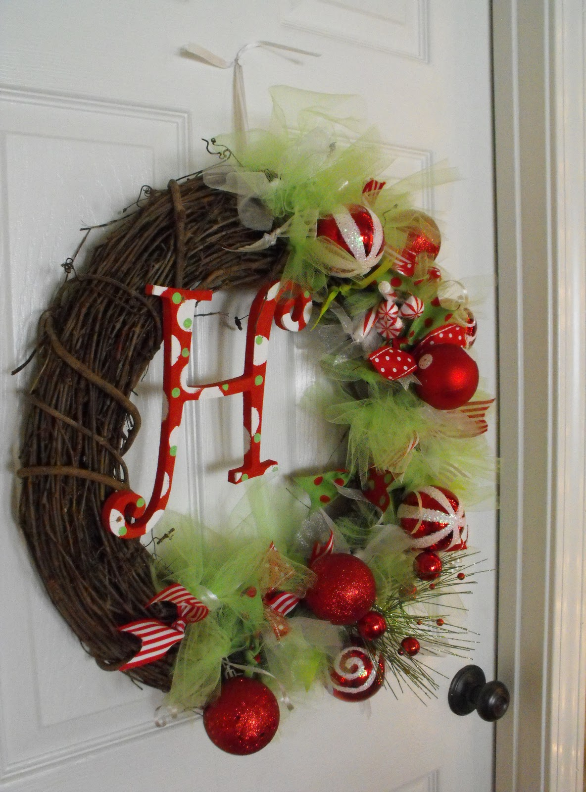 DIY Christmas wreath 016