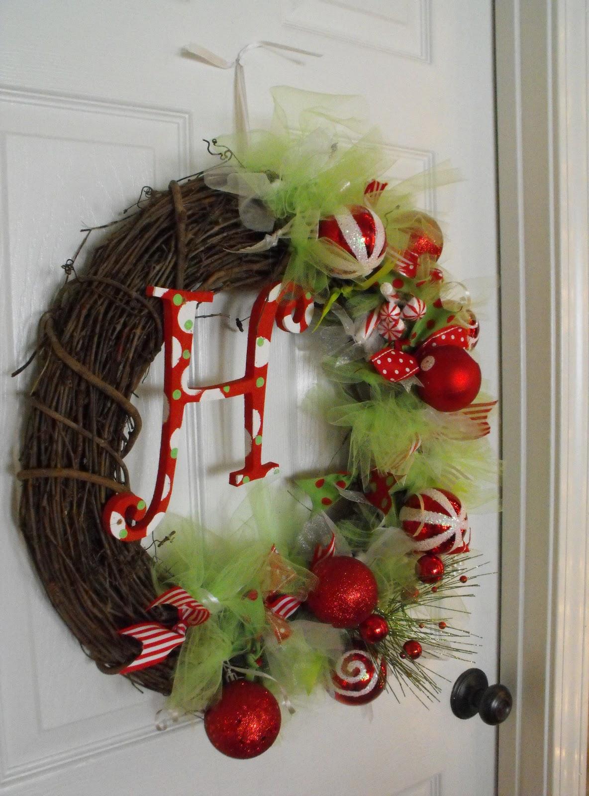 DIY Christmas wreath 016