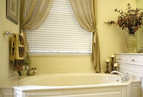 ideas for bathroom window treatments комбинируем жалюзи и шторы f l a s h d e c o r 24280