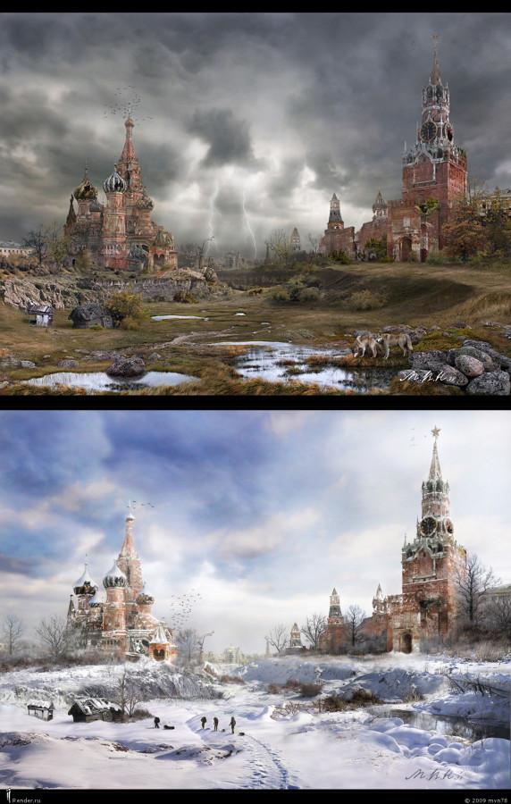 Кремлёвская долина - Времена года