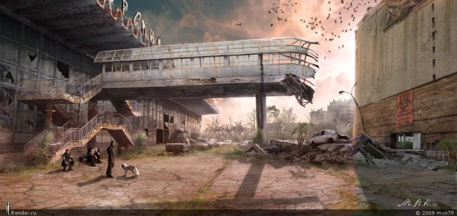 Городская пустошь (Курский вокзал)