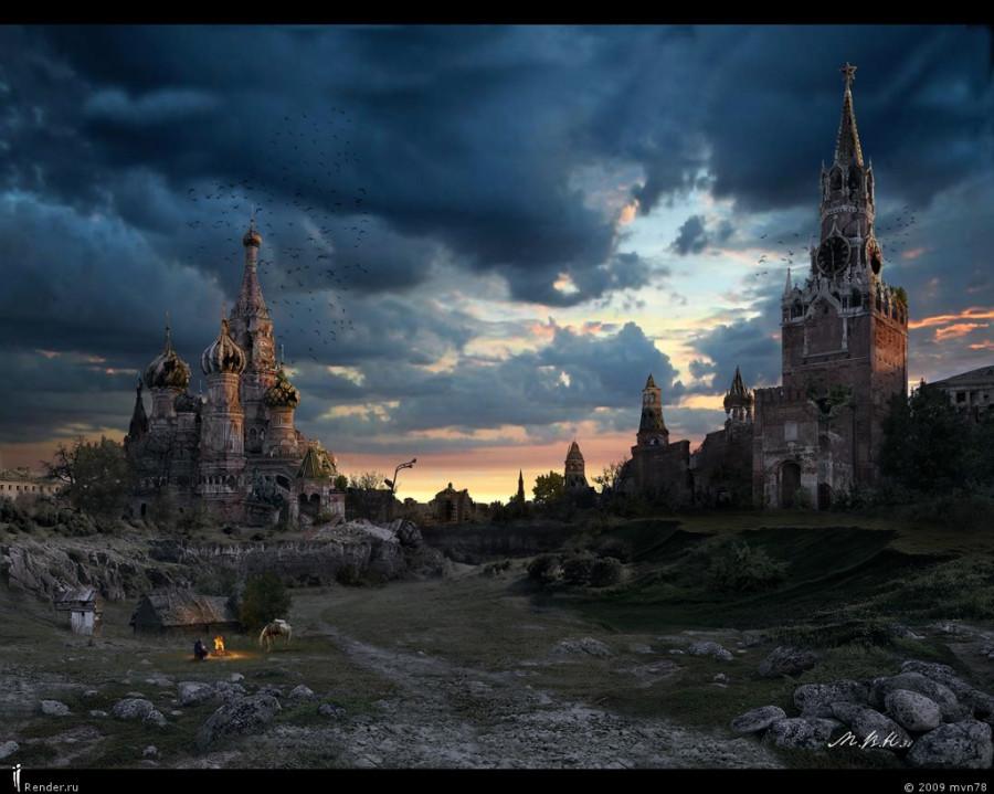 Кремлёвская долина -Закат