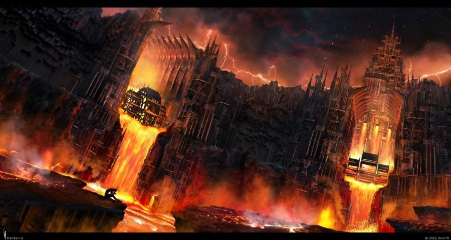 Железный город Дис