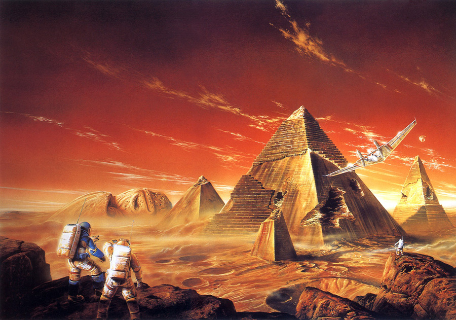 Labyrinth of Night - Bob Eggleton