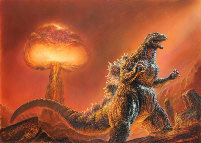 Godzilla - Bob Eggleton