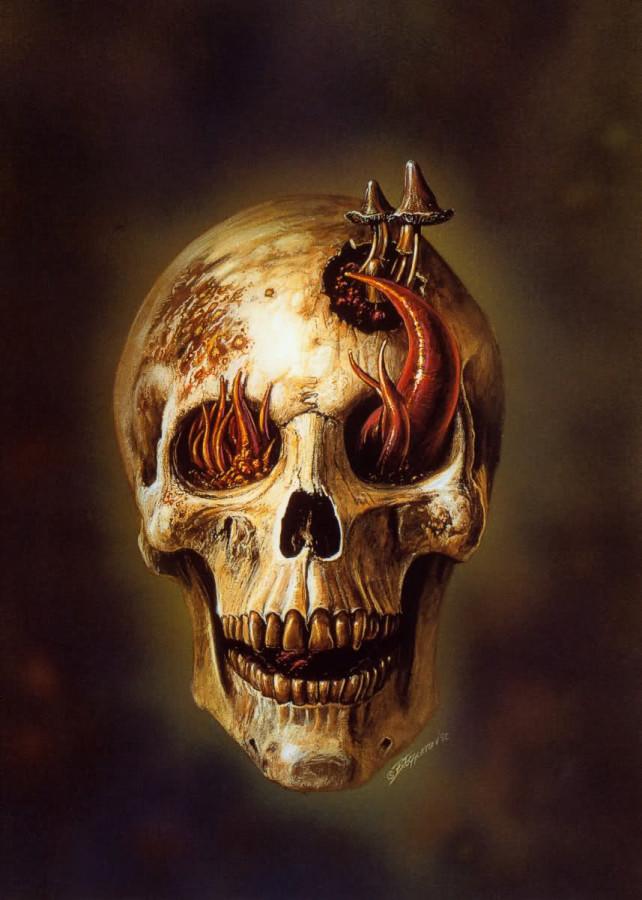 Fungus Face - Bob Eggleton