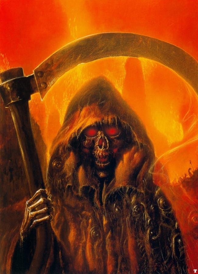 Mister death - Bob Eggleton