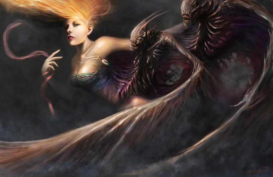 Dark harpy - Christian Quinot
