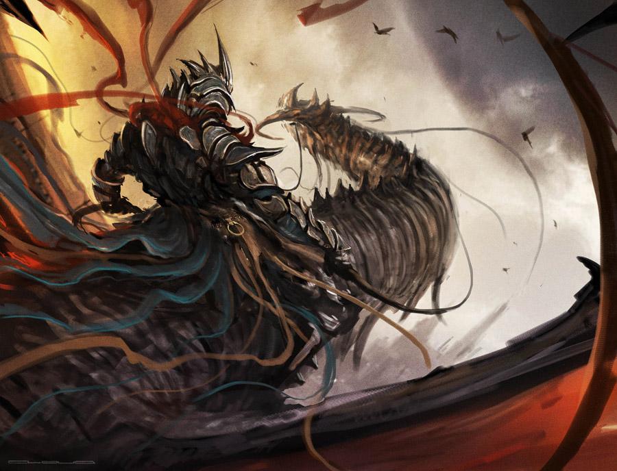 Dragon rider - Christian Quinot