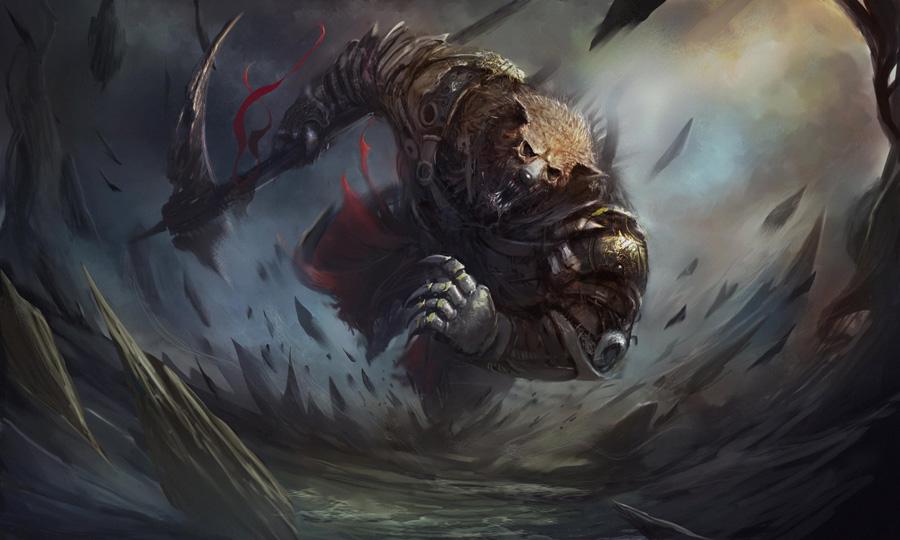 War bear - Christian Quinot