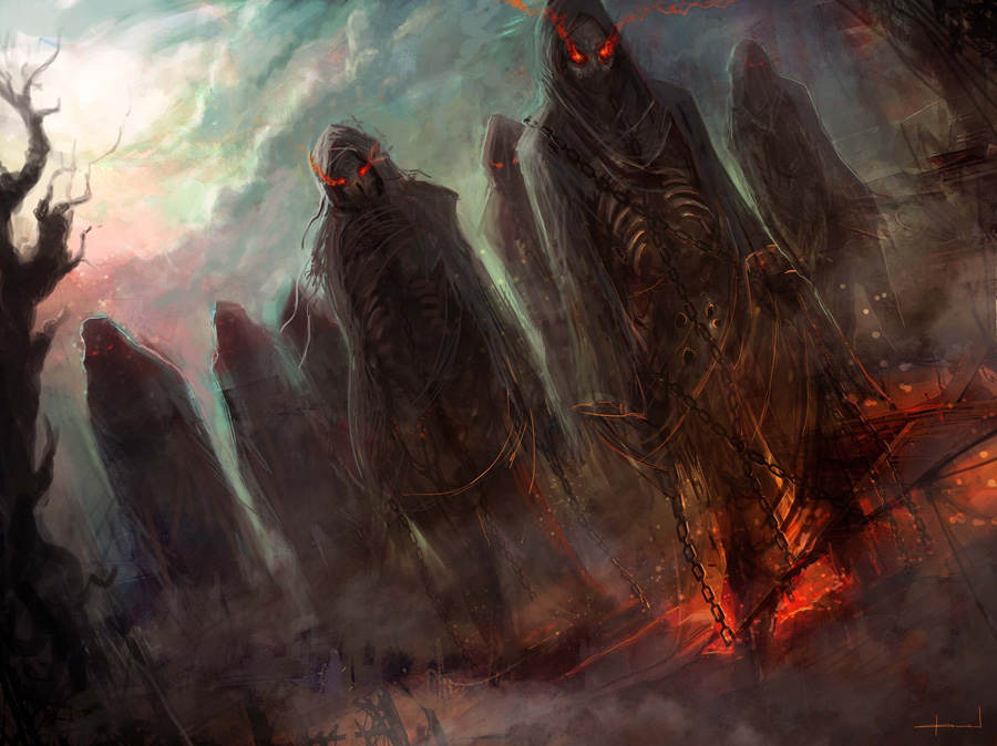 Zombie warriors - Christian Quinot