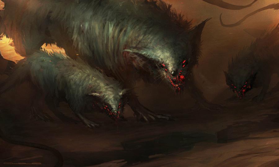 Giant rats - Christian Quinot