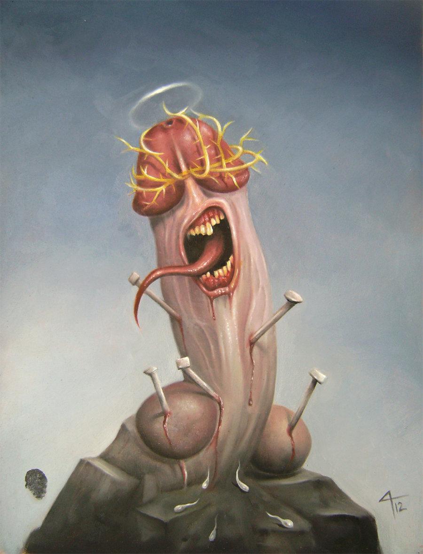 Penis Christ - David Magitis