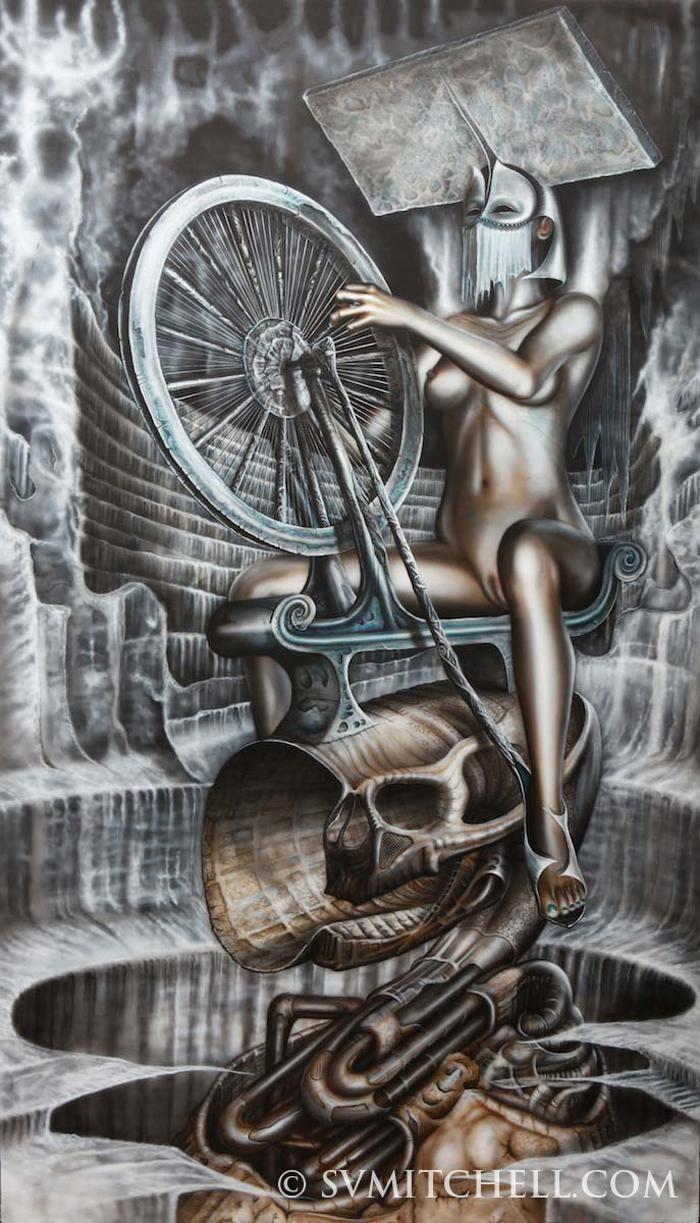 Spinning jenny - S V  Mitchell