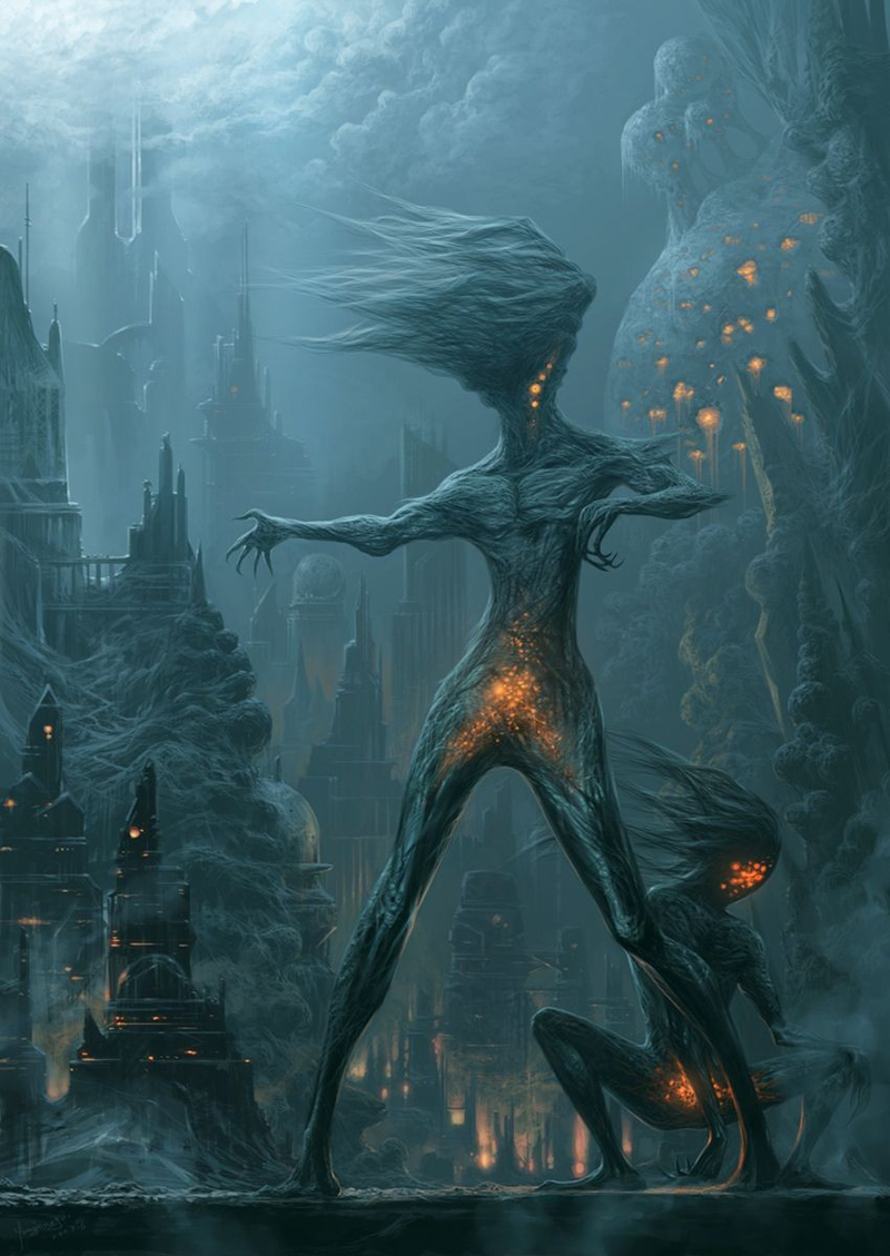 Dancing sprite from darkness - Xueguo Yang