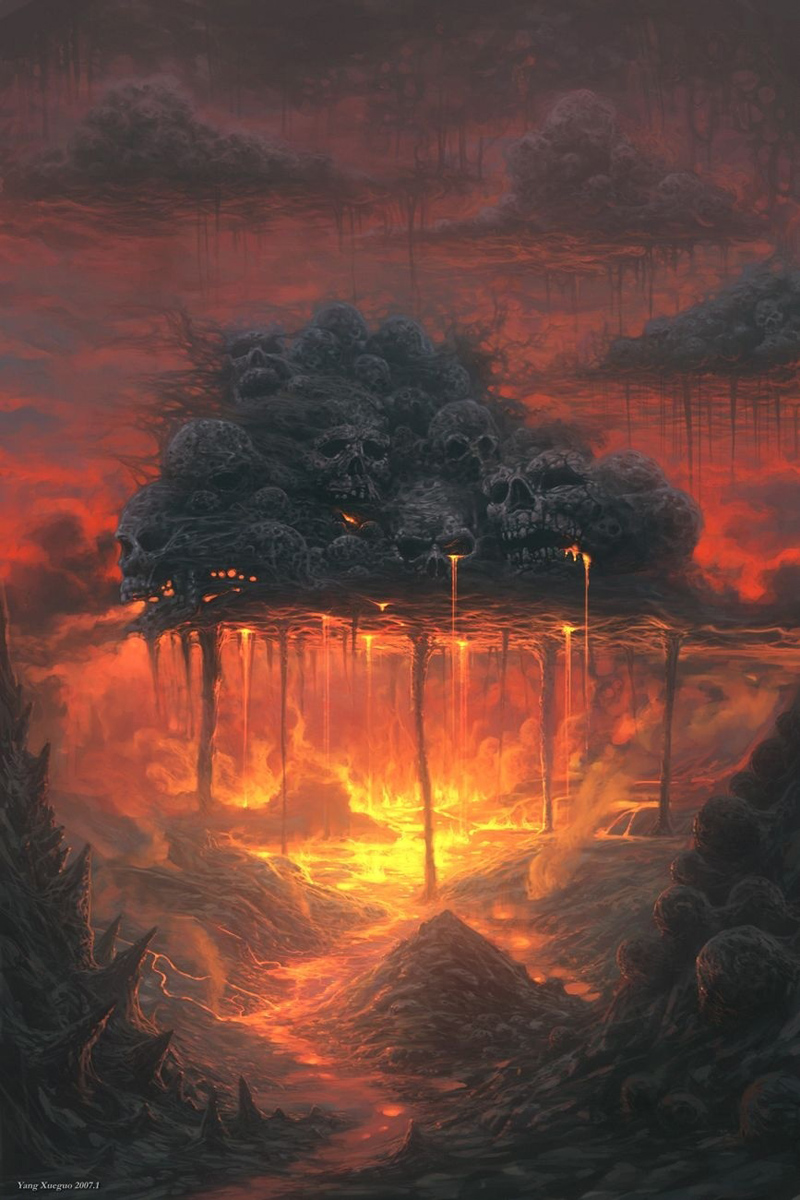 Crying sky! - Xueguo Yang