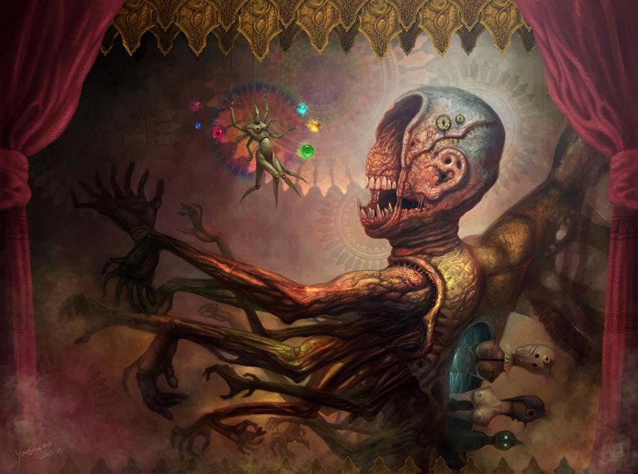 Puppet of phantoms - Xueguo Yang