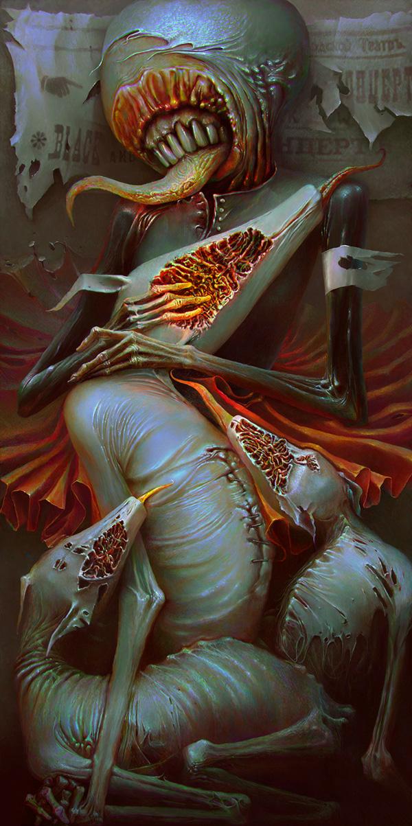 Post-apocalyptic glamor - Александр Кумпан