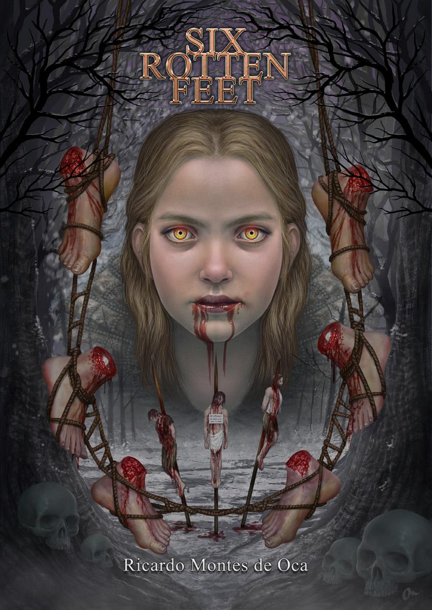 Six Rotten Feet - Book Cover