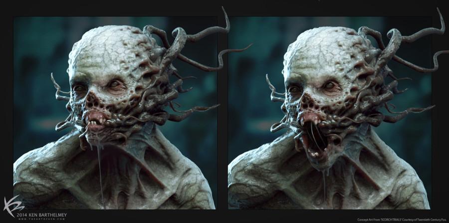 Ren Barthelmey - Шиз в 3D Лицо