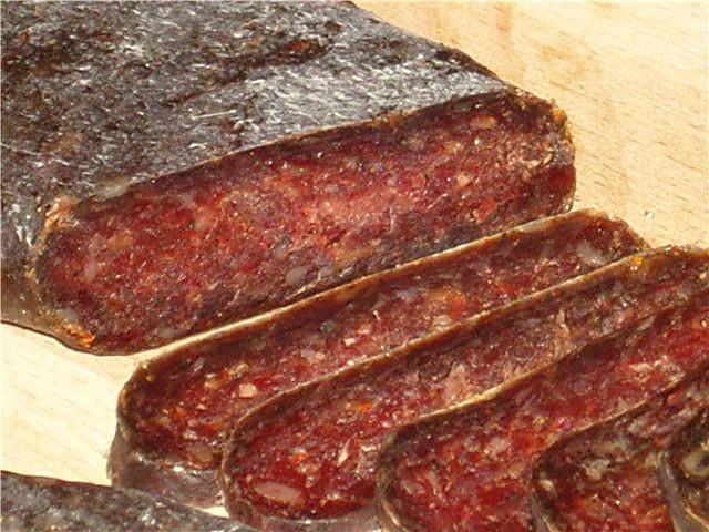 Колбаса из говядины в домашних условиях видео