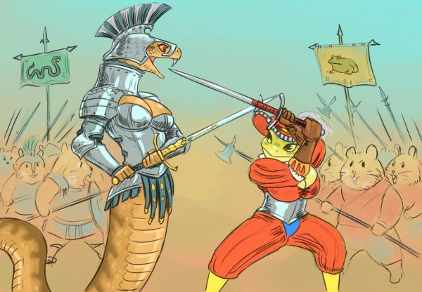 Viper vs Toad