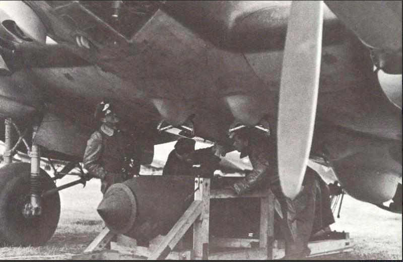 He111 schwere Bombe