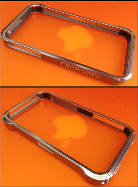 GERFFINS Металлический бампер для Iphone 4/4S