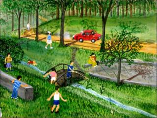 Картинки про лето детские рисунки