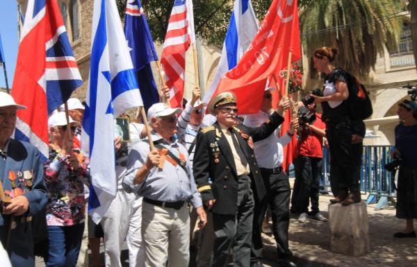 Май, 9-е. Парад в Иерусалиме