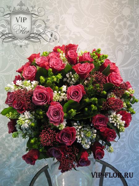 букет цветов vip-flor.ru