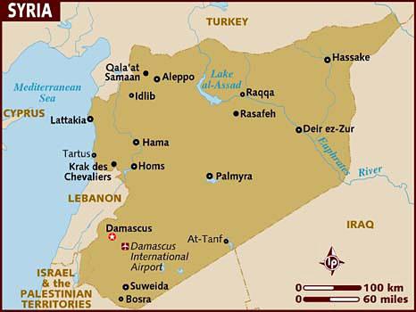 Иранский генерал Сулеймани прибыл в сирийский район Ат-Танф