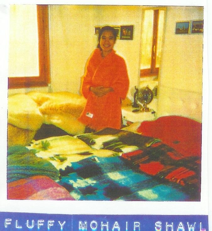 13 fluffy shawl & blankets