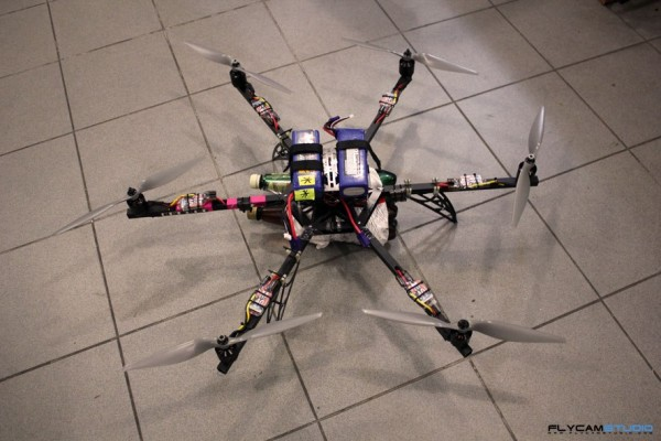 flycamstudio SE Series hexacopter frame