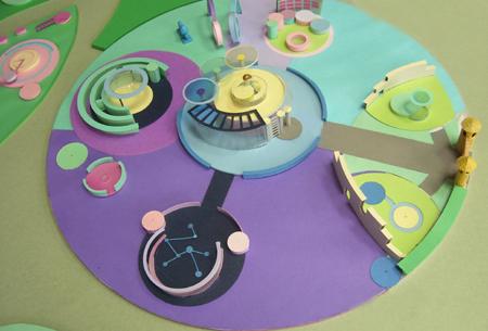 Как и из чего сделать макет детской площадки
