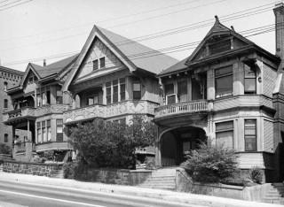 Olive Street, Los Angeles, 1960
