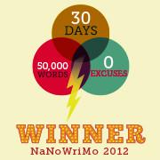 NaNo 2012 Badge 5