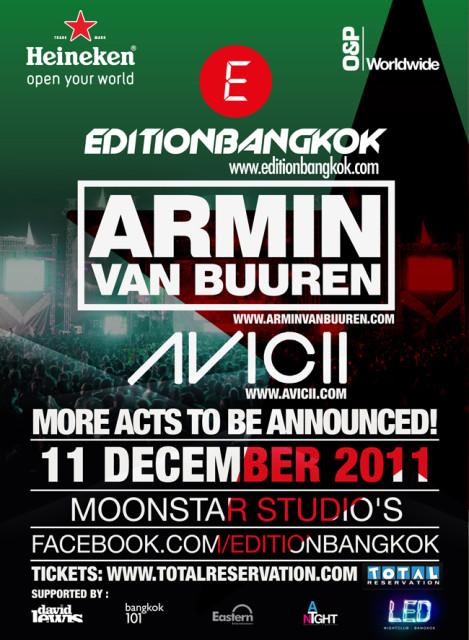 Armin в Бангкоке