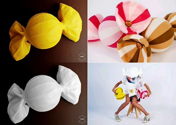 Подушки конфетки своими руками