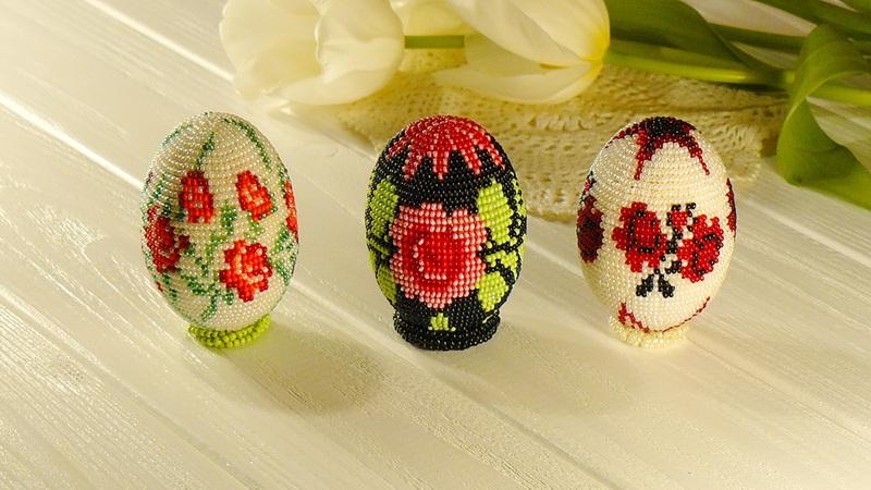 beaded Easter egg1