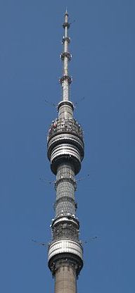 Останкинская башня-игла