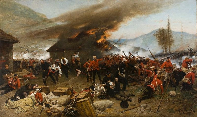 800px-The_defense_of_Rorke's_Drift