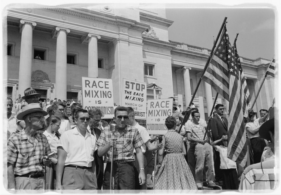 the discrimination in the united states against the racial background of the people