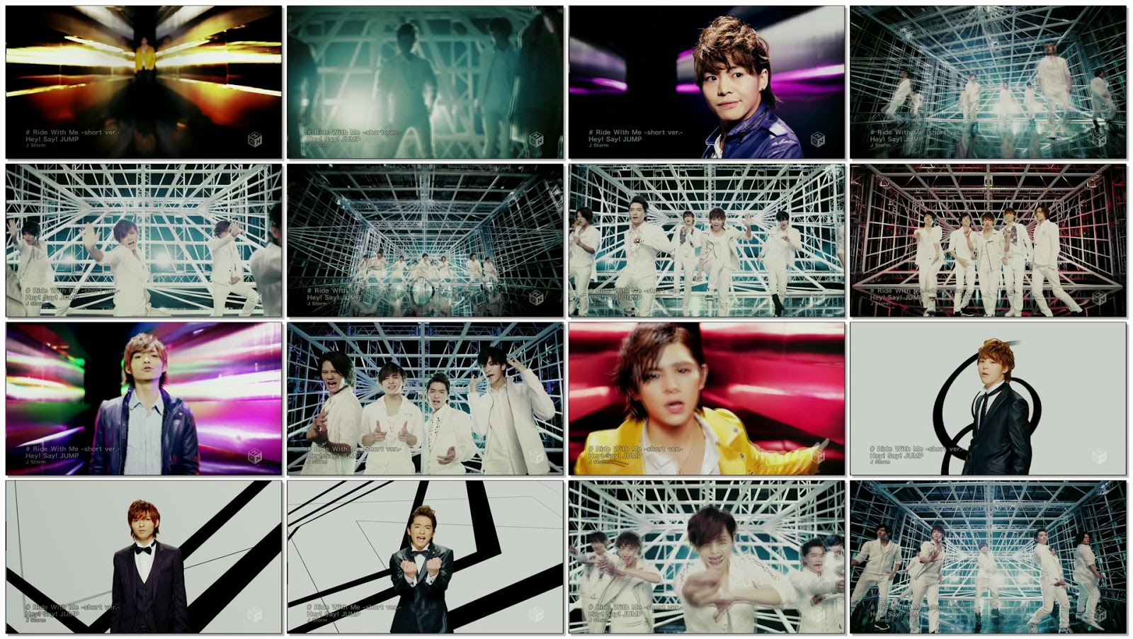 Hey! Say! JUMP - Ride With Me -short ver.- [1440x1080 h264 M-ON! HD].ts