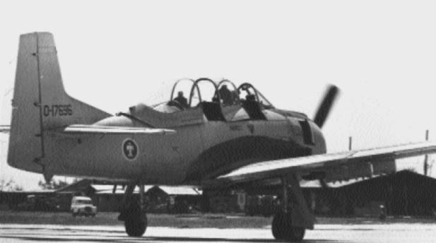T-28D ВВС Лаоса, 1960-е
