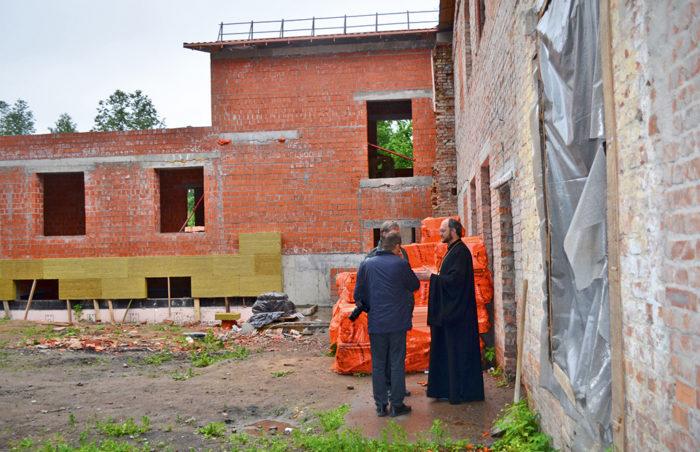 Строительство хосписа в г. Павловске, Ленинградская область