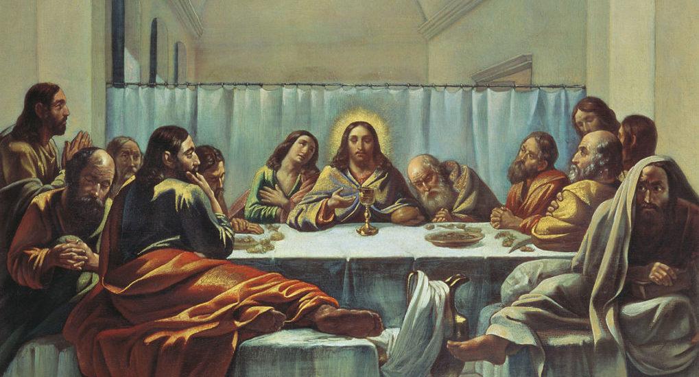 На заставке:  Тайная вечеря. Живаго Семен Афанасьевич. 1846 (фрагмент). Источник: vsdn.ru