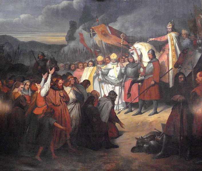 706px-Charlemagne_742_814_receiving_the_submission_of_Witikind_at_Paderborn_in_785_Ary_Schefferr_1795_1858