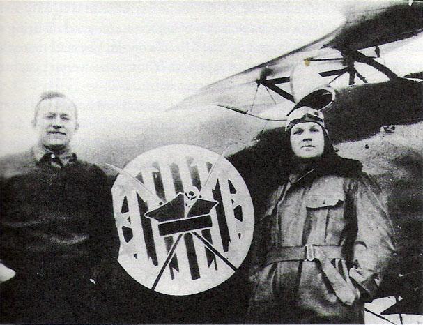 американские пилоты-добровольцы Купер и Фаунтлерой из Эскадрильи Костюшко